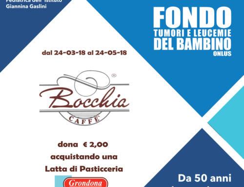 Iniziativa Bocchia Caffe' a favore del Fondo Tumori e Leucemie del Bambino